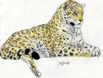 Giant Pleistocene Jaguar 2 by Jagroar