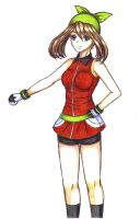 May/Aura - Pokemon Ruby, Sapphire and Emerald by ilovetheanime
