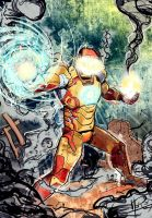 Iron Man - Mark 42 by More979