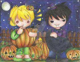 Royai: By the  Pumpkin Patch by catsandkitties