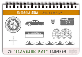 Brushset 19: Travelling Far by Ruthenia-Alba