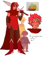 some davekat gemsona fusion bullshit by colorwonders