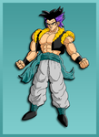 Gotenks - Colors by Luned13