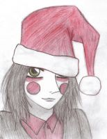 Santa? by Willowwolf23