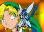 My version of Link and Navi by leadpoint