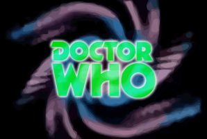 Doctor Who Pertwee logo by gfoyle