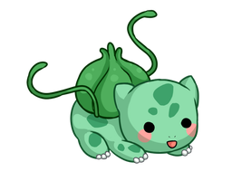 Chubby bulbasaur by Amphany