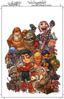 Go Boy 7 TPB cover by -seed-