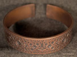 Copper Bracelet 1 by Vegvisir