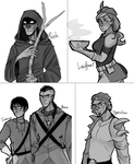 HUMANSSS by ninetail-fox