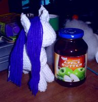WIP Rarity with apple butter by SunnyFaceMLP