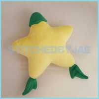 Kingdom Hearts: Paopu Fruit Plush by sugarstitch