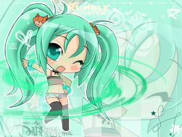 Hi  cute chibi wallpaper by Darkness1999th