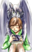 Hiccup, I'm Bored. by Medli45