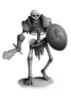 Skeleton Warrior by SHAWCJ