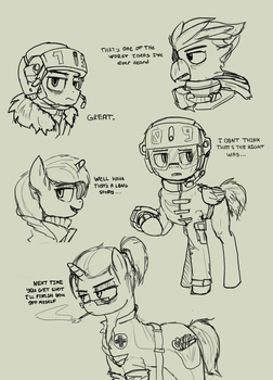 characters by Exlinard