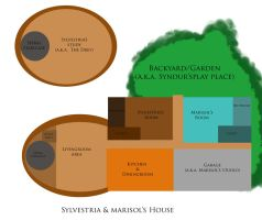 Sylvestria and Marisol's House Floor Plans by Sahara-Fang