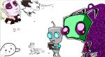 ZIM, GIR and STUFF by InvaderSponge