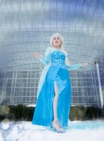 Elsa - Let It Go by Nyxiie