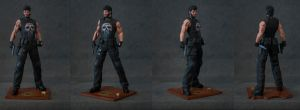 Punisher Painted by AYsculpture