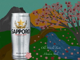 Sapporo CANvas Contest Entry by Amarantheans
