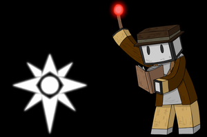Minecraft Character 3- Grey by Ardwick