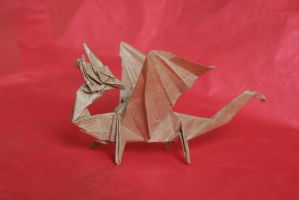 KNL Dragon - R J Lang by meldrew-origami