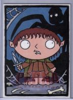 Stewie as Frodo Meg Shelob by ElainePerna