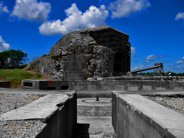 German Battery Normandie by RichardRH