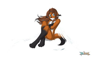 Angel Laura with logo (No Background) by xboxgamer969