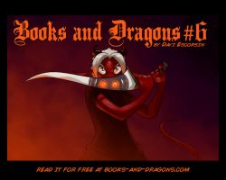 Books and Dragons chapter 6 cover by davi-escorsin