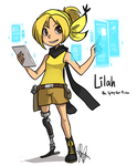 Pokemon OC: Lilah by ky-nim