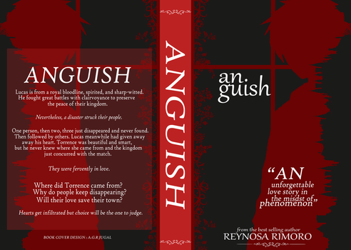 Anguish-Book Jacket by Dystopian-Sirpent