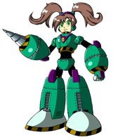 Archie Mega Man's Quake Woman ver Megamix by JusteDesserts