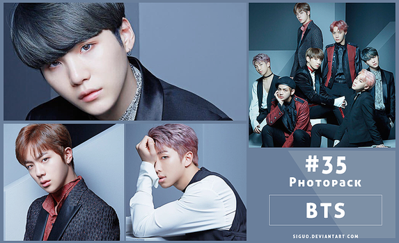 #35 Photopack- BTS [Japan Official] 8P by Siguo