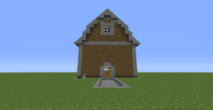 A Minecraft Barn by Maddimrw420