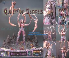 The Queen of Blades : Evolution Completed by AlbertoCarrera