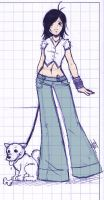 trousers sketch by bechan