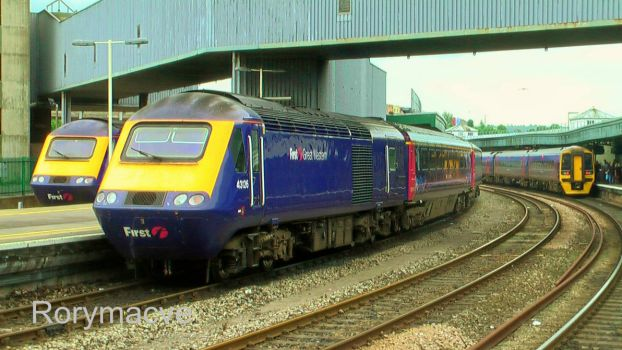 First Great Western 43126 at Bristol Temple Meads by The-Transport-Guild