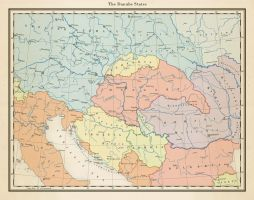 The Danube States, 1942 by 1Blomma
