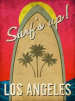 Surfs Up Los Angeles by red5