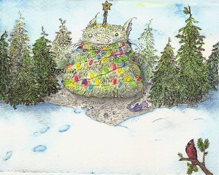 Finished card by MuseTerra