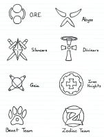Crests and Symbols by Spartan9053