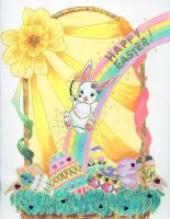 + Happy Easter + by Kawaiidelicious-club