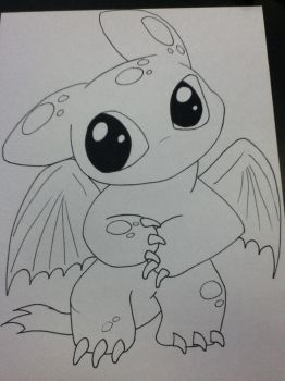 Toothless! :P by Bre615