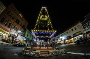 Placerville At Night by Caitiekabob