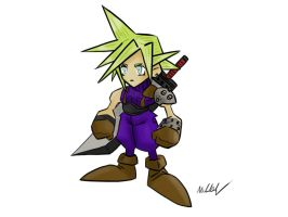 FFVII Cloud Strife by supereva01