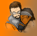Gordon and Alyx Colors unclean by sidrafa