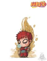 Gaara of the Desert by Harry-Yu