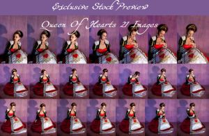 queen of hearts exclusive 3 by DigitalAlchemy-Stock
